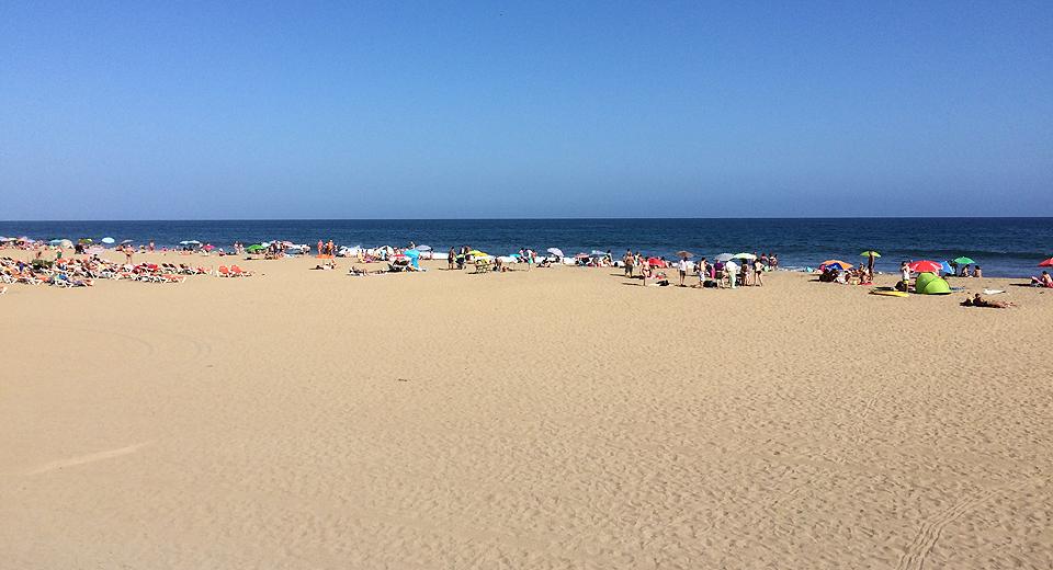Strand von Playa del Inglés - granister.com